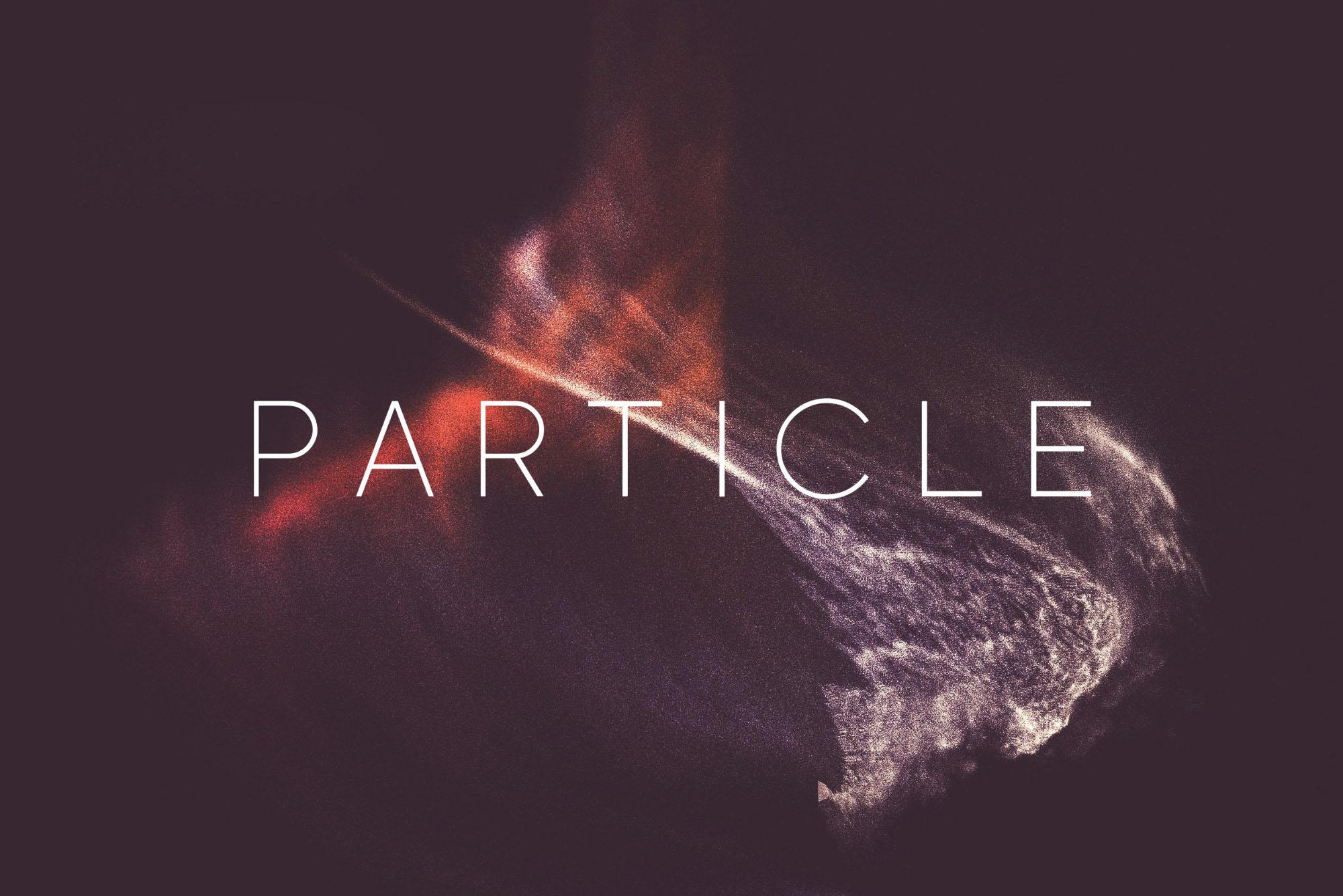 Particle Font