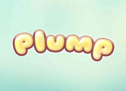 Plump Text Effect