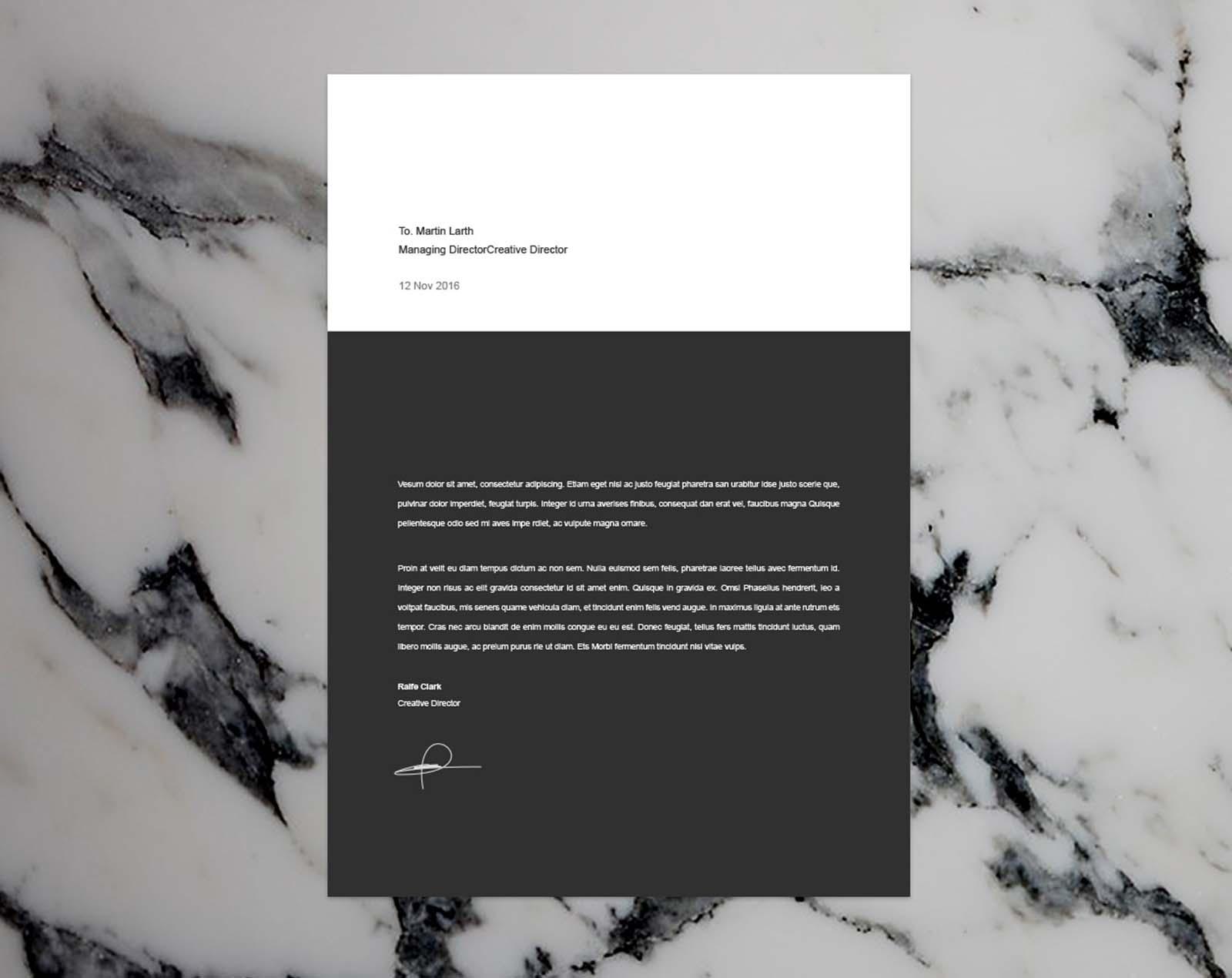 Modern Resume Template - 02