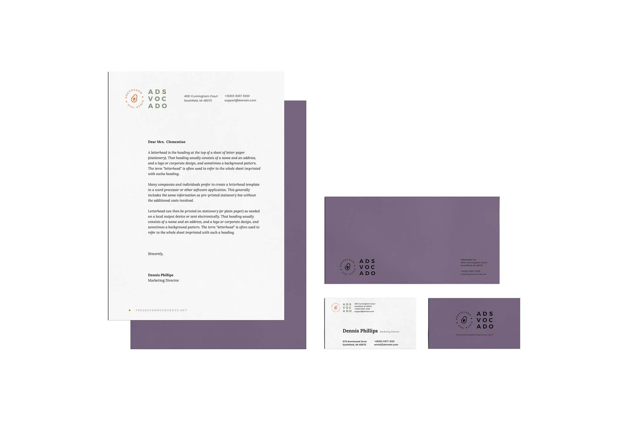 Stationery & Branding Mockup 2