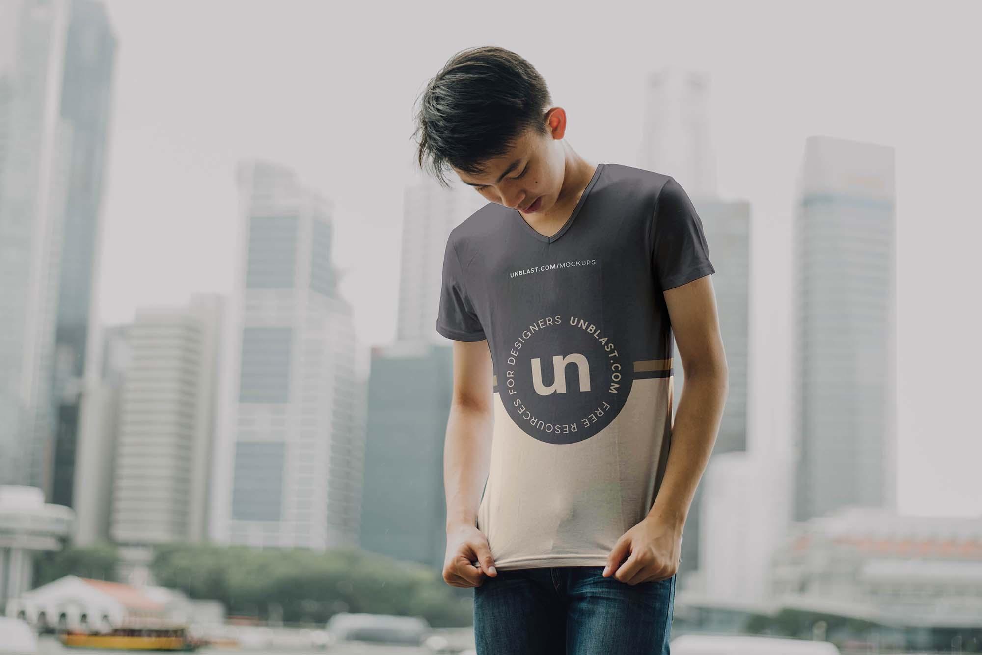 T-Shirt Mockup - Dark