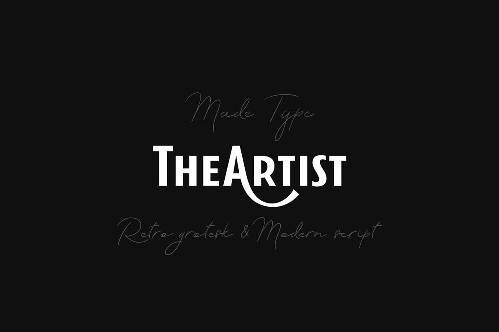 The Artist Duo Font