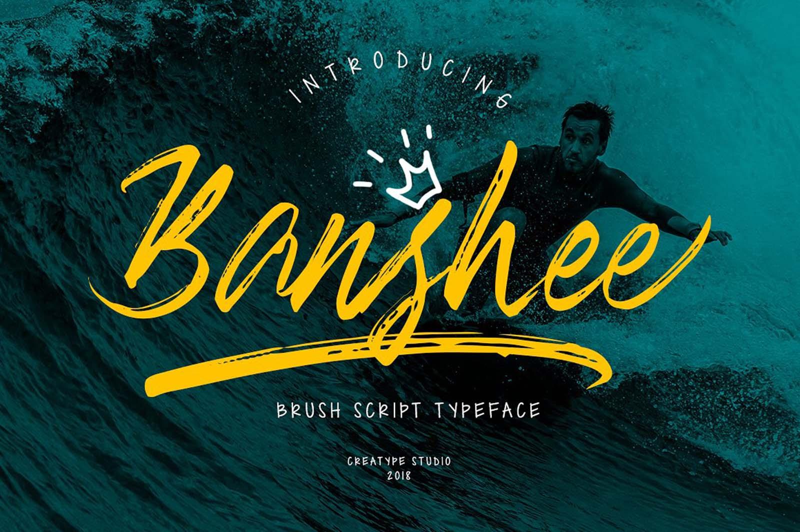 Banshee Script Font