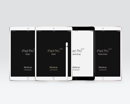 iPad Pro Mockup PSD
