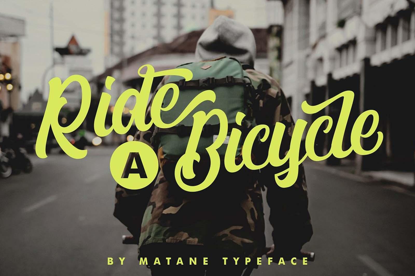 Matane Script Font