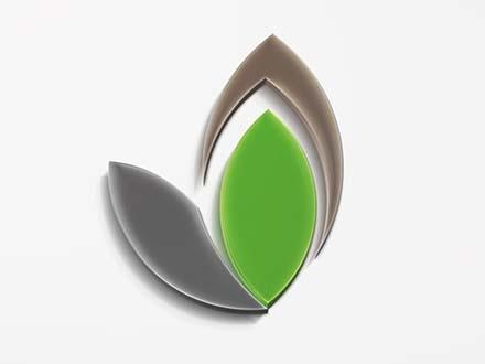 3D Logo Text Effect Mockup