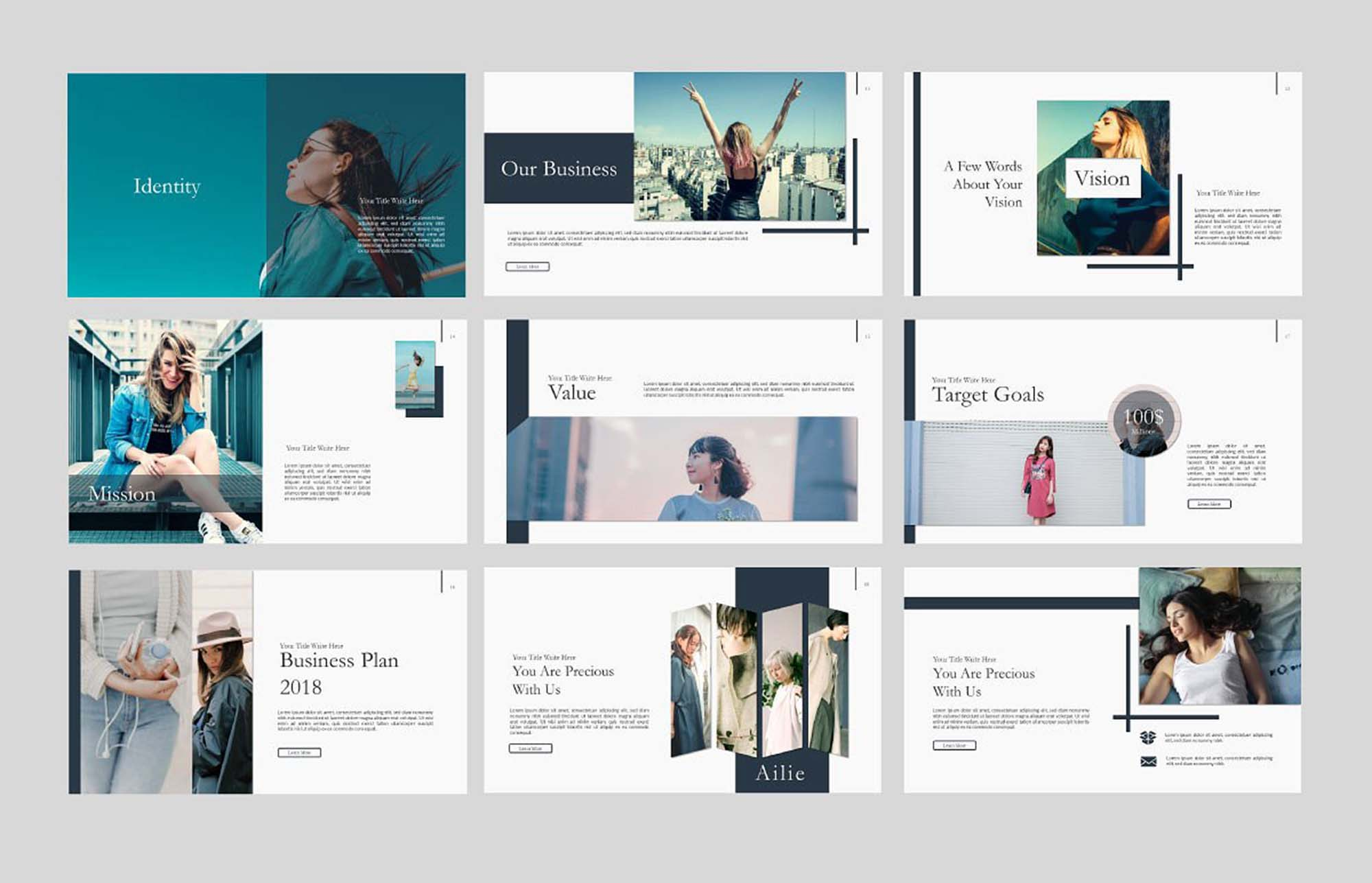 Ailie Free Powerpoint Presentation Template