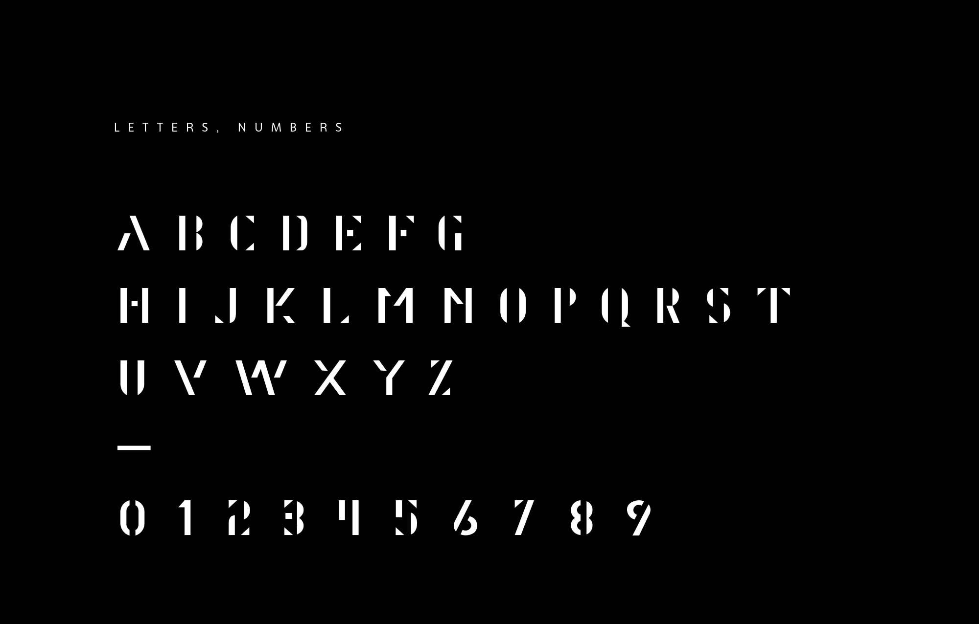 Alaska Font Letters