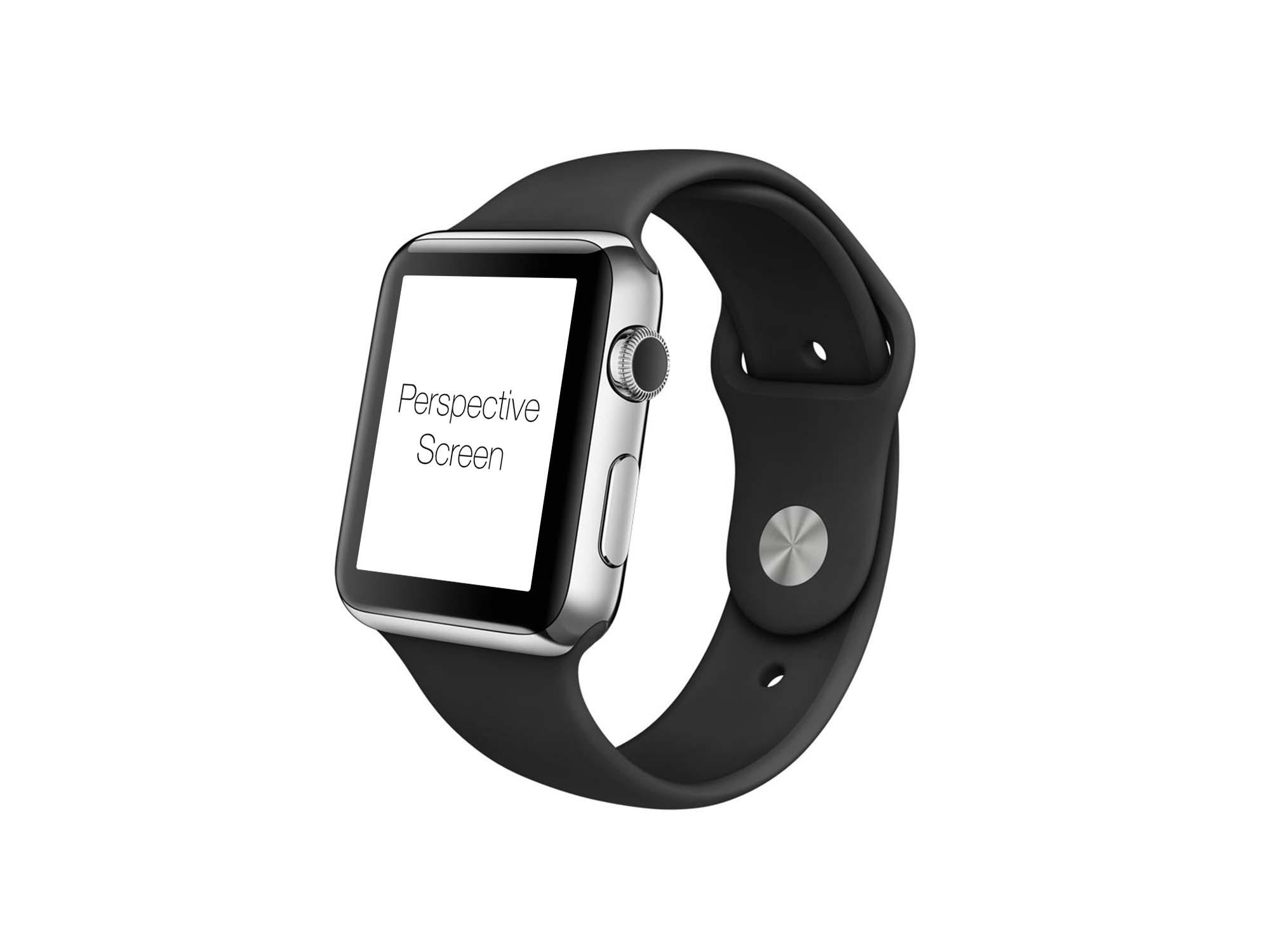 Apple Watch Mockup Perspective