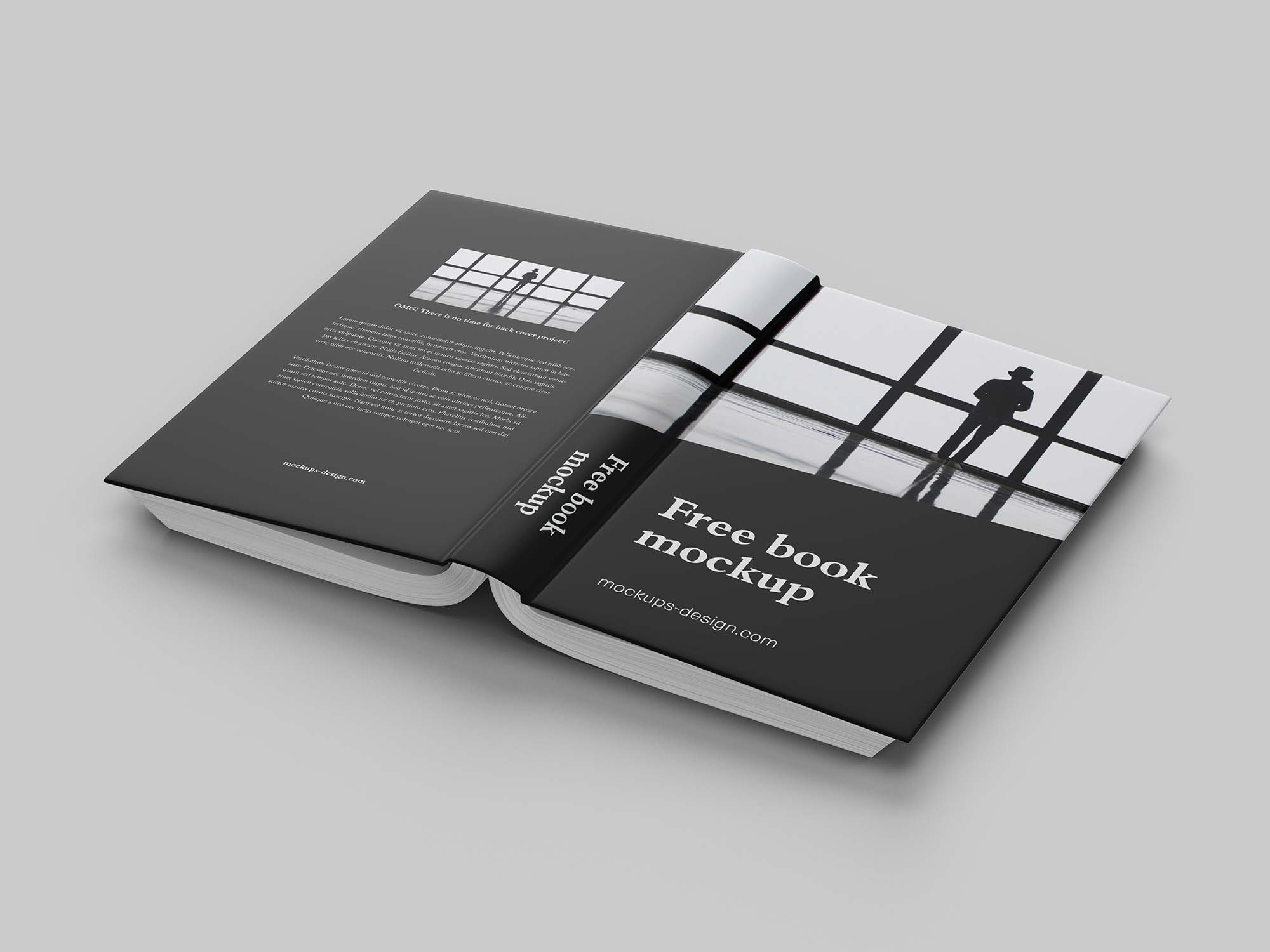 Book Mockup Back Cover