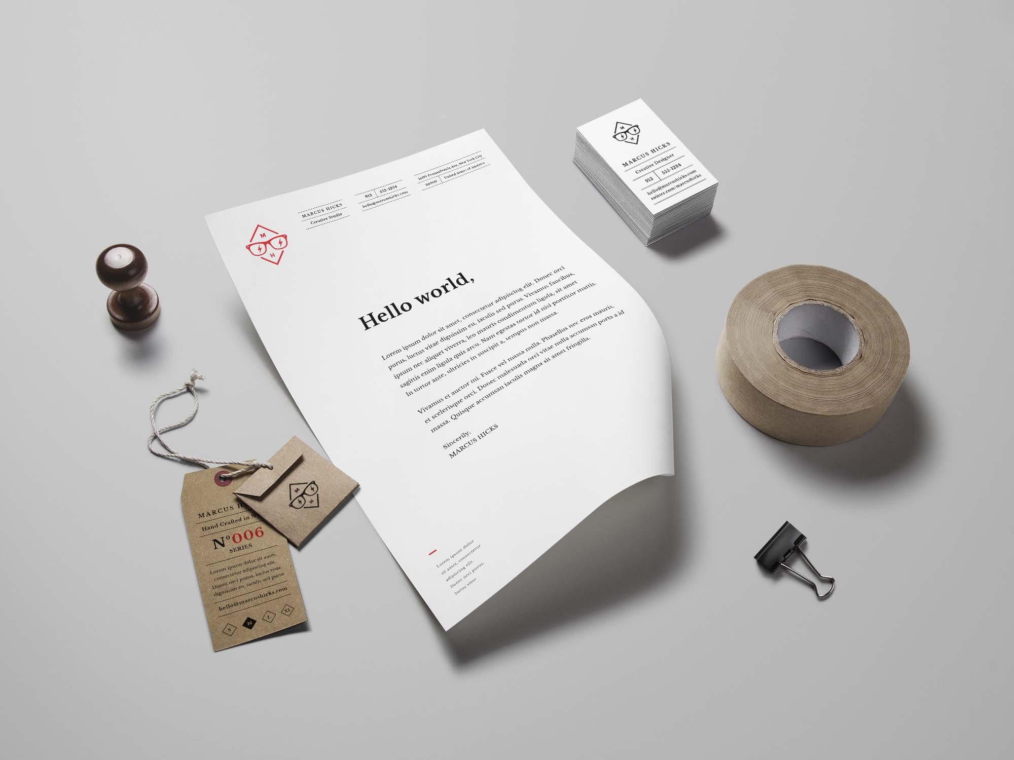 Branding Identity Mockup