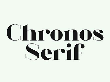 Chronos Serif Font
