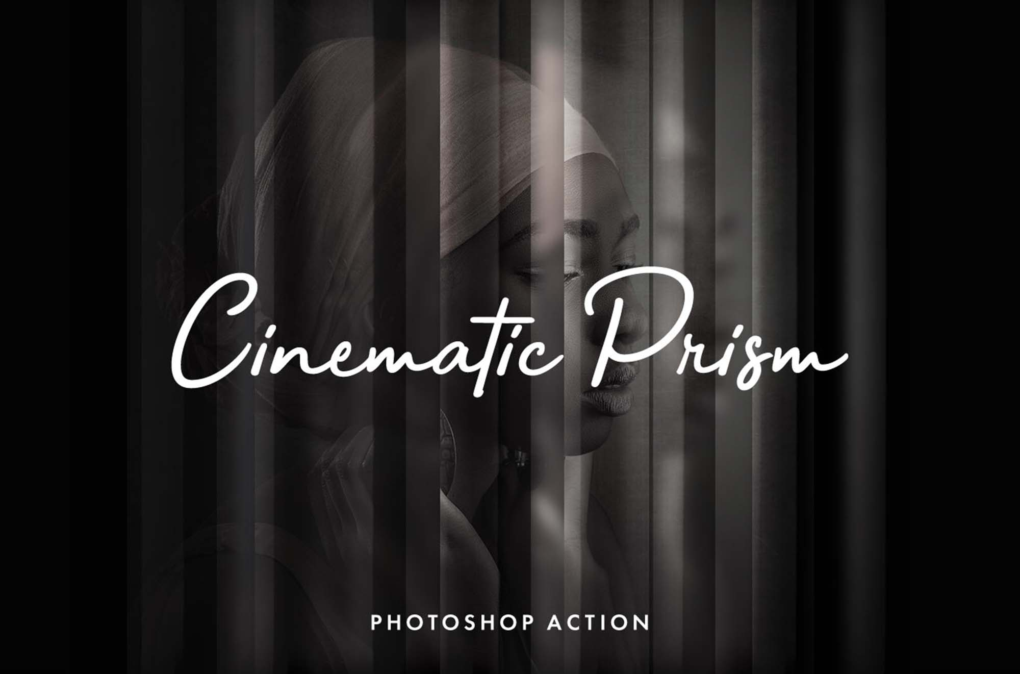 Cinematic Prism Photoshop Action