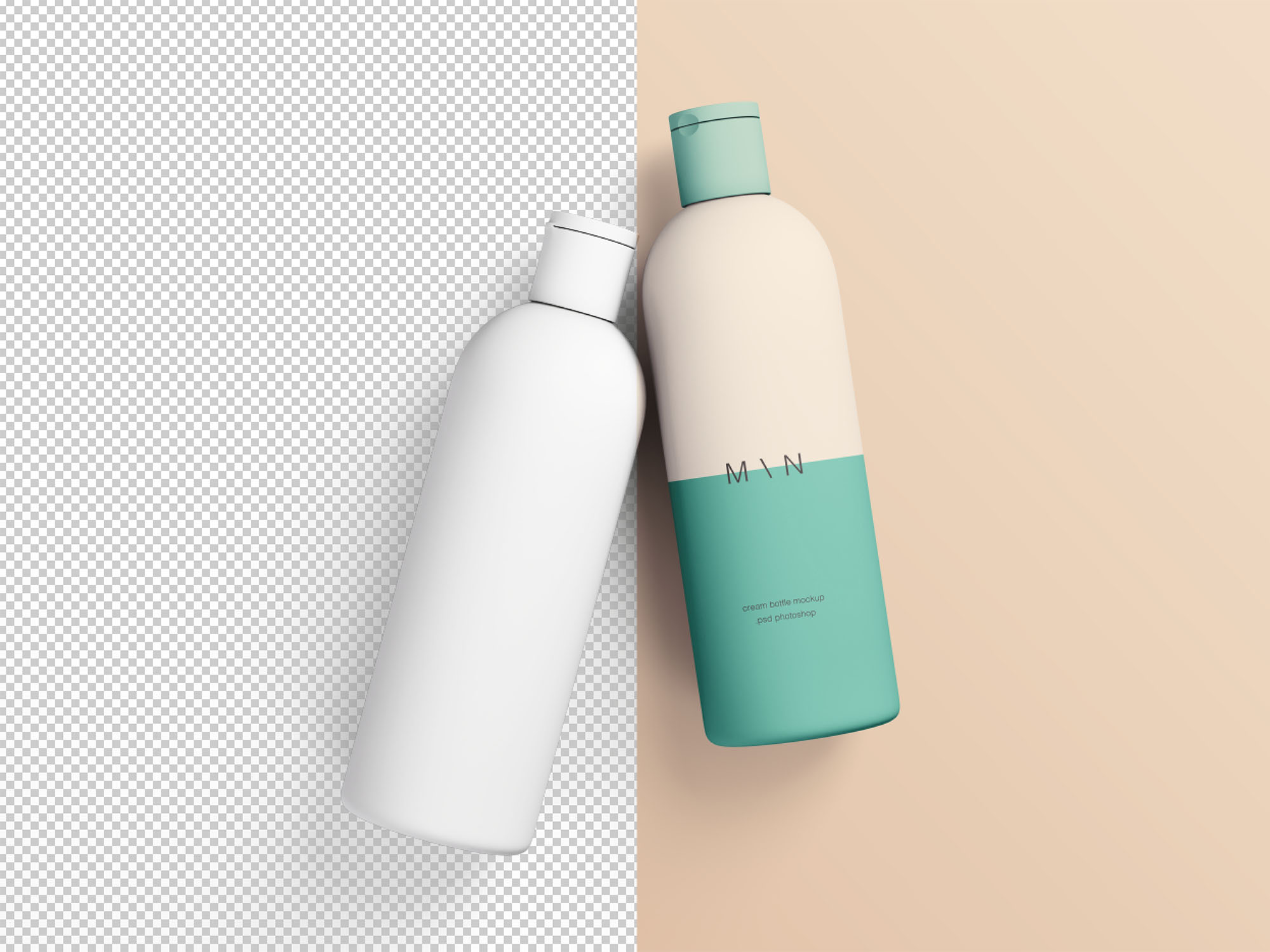 Cosmetic Bottle Mockups