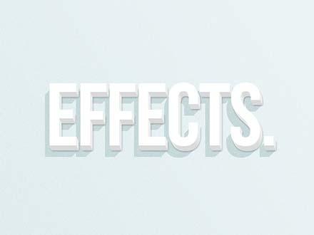 Flat Diagonal Text Effect
