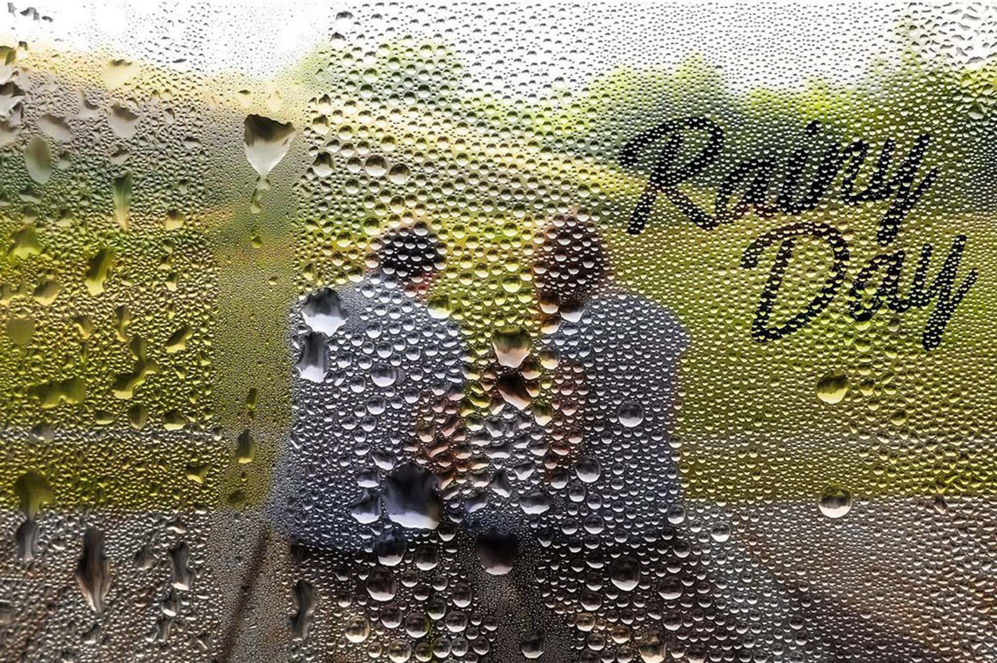 Foggy Rainy Window Photoshop Action