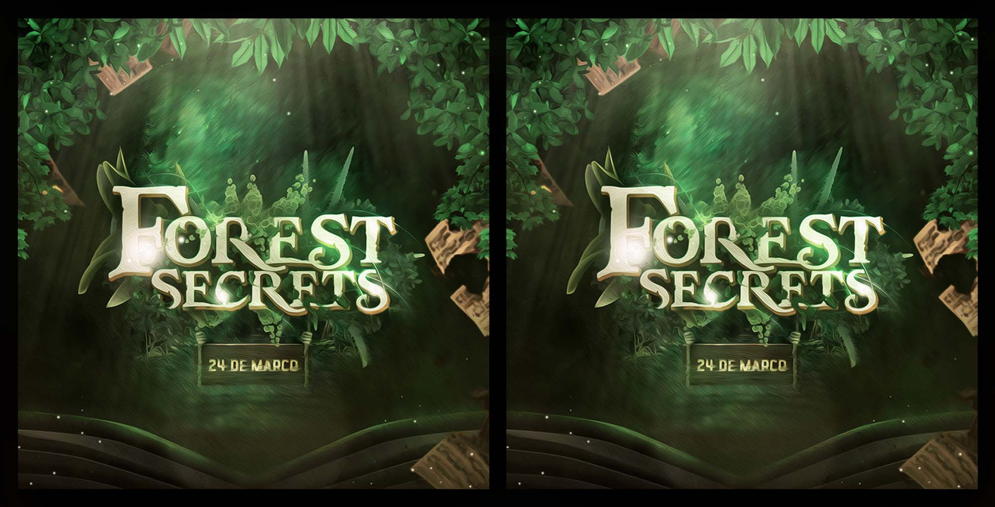 Forest Secrets Text Effect