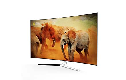 3D Samsung Curved KS9500 TV Model