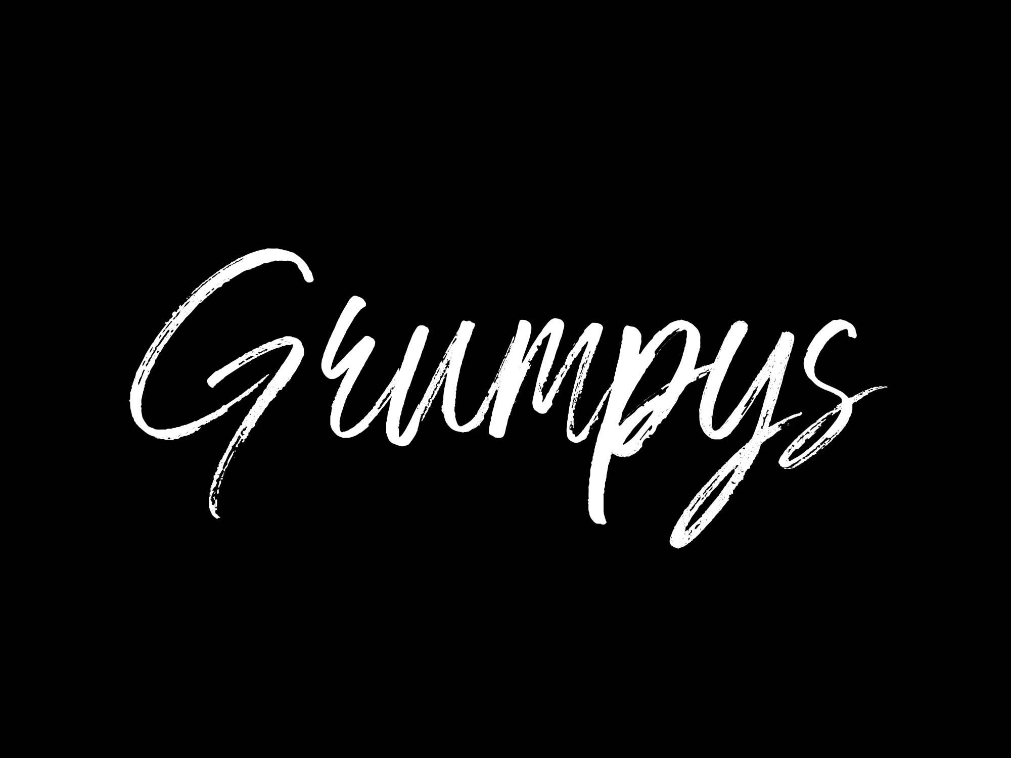 Grympys Font