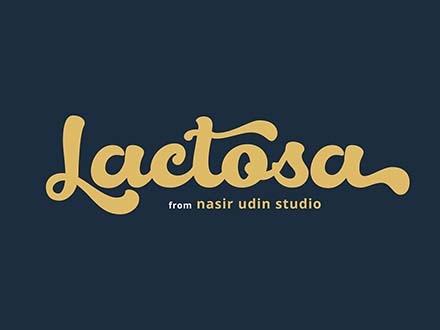 Lactosa Font
