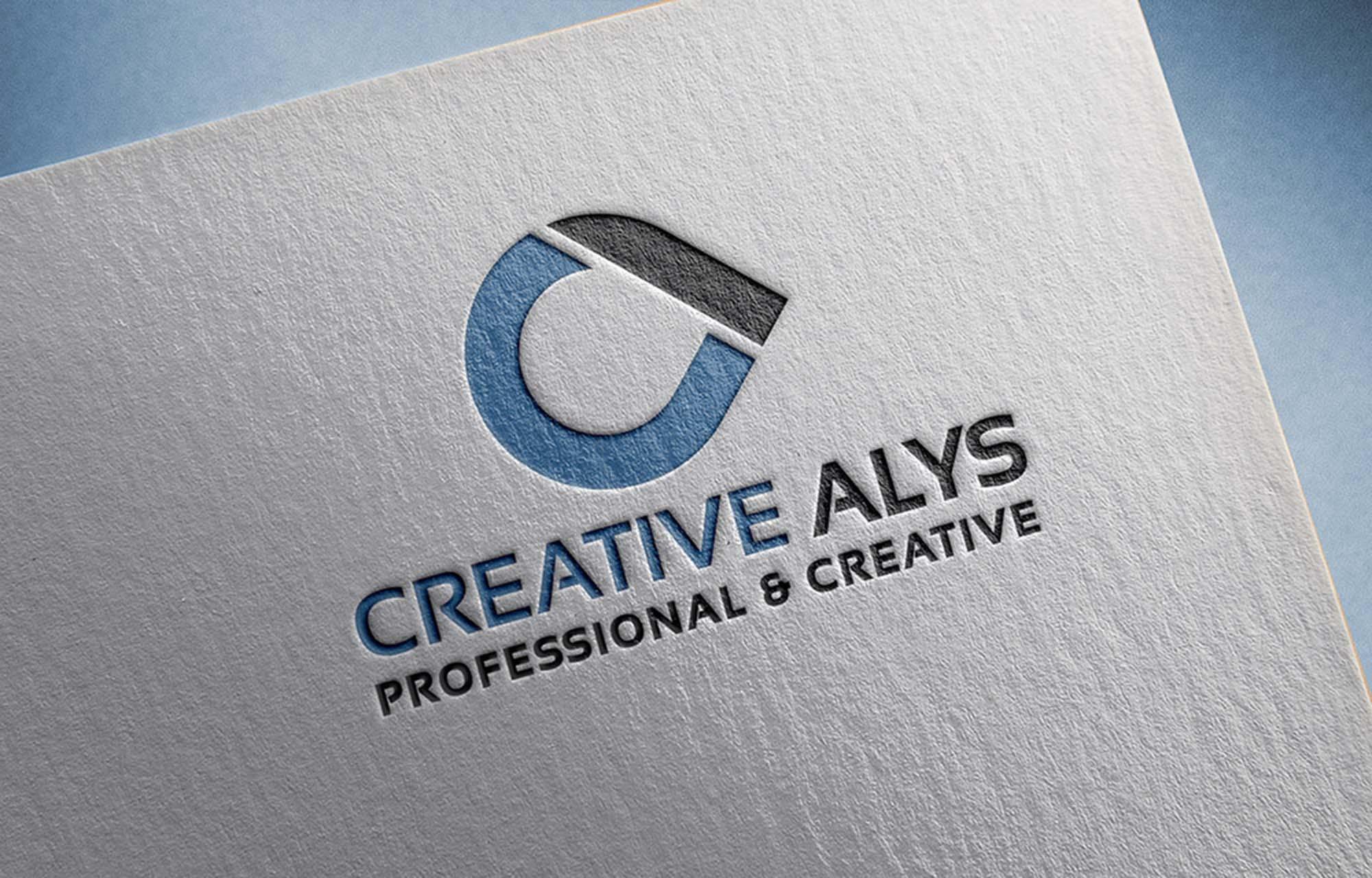 Graphic Design Software Free Free Paper Pressed Logo Mockup Psd