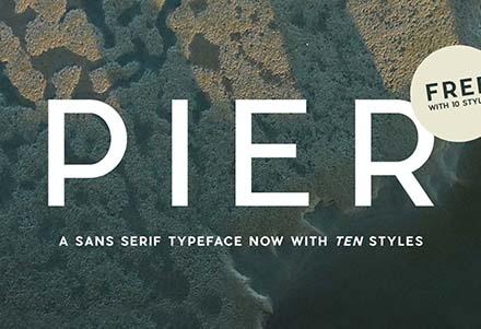Pier Sans Font