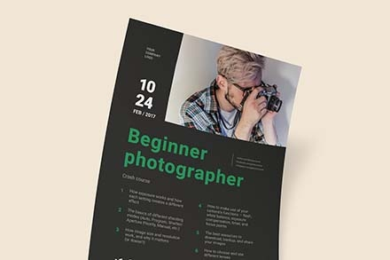 Photographer Poster Template