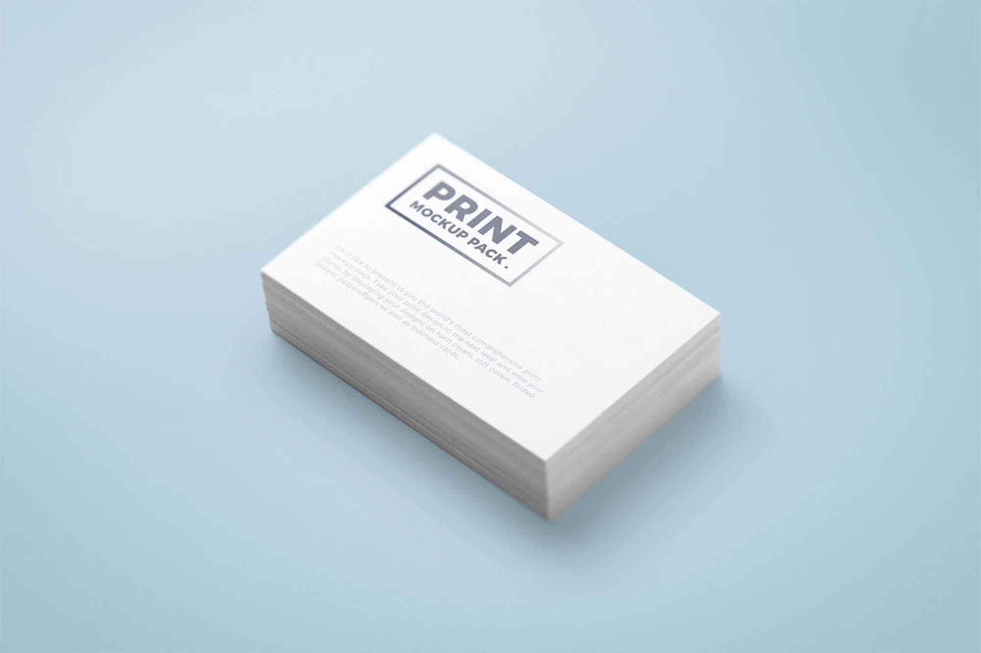Print Mockup Business Card