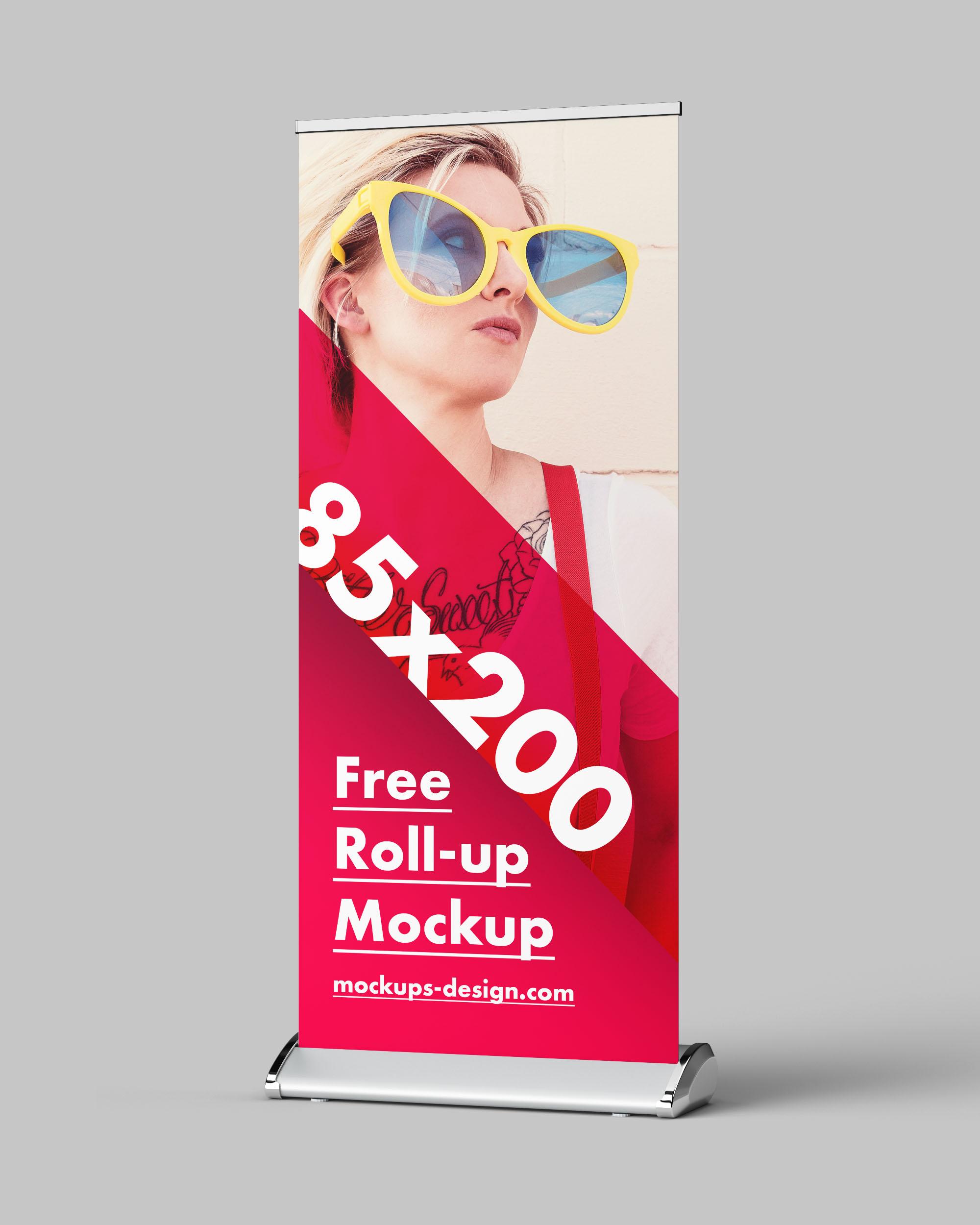 Free Rollup Mockup