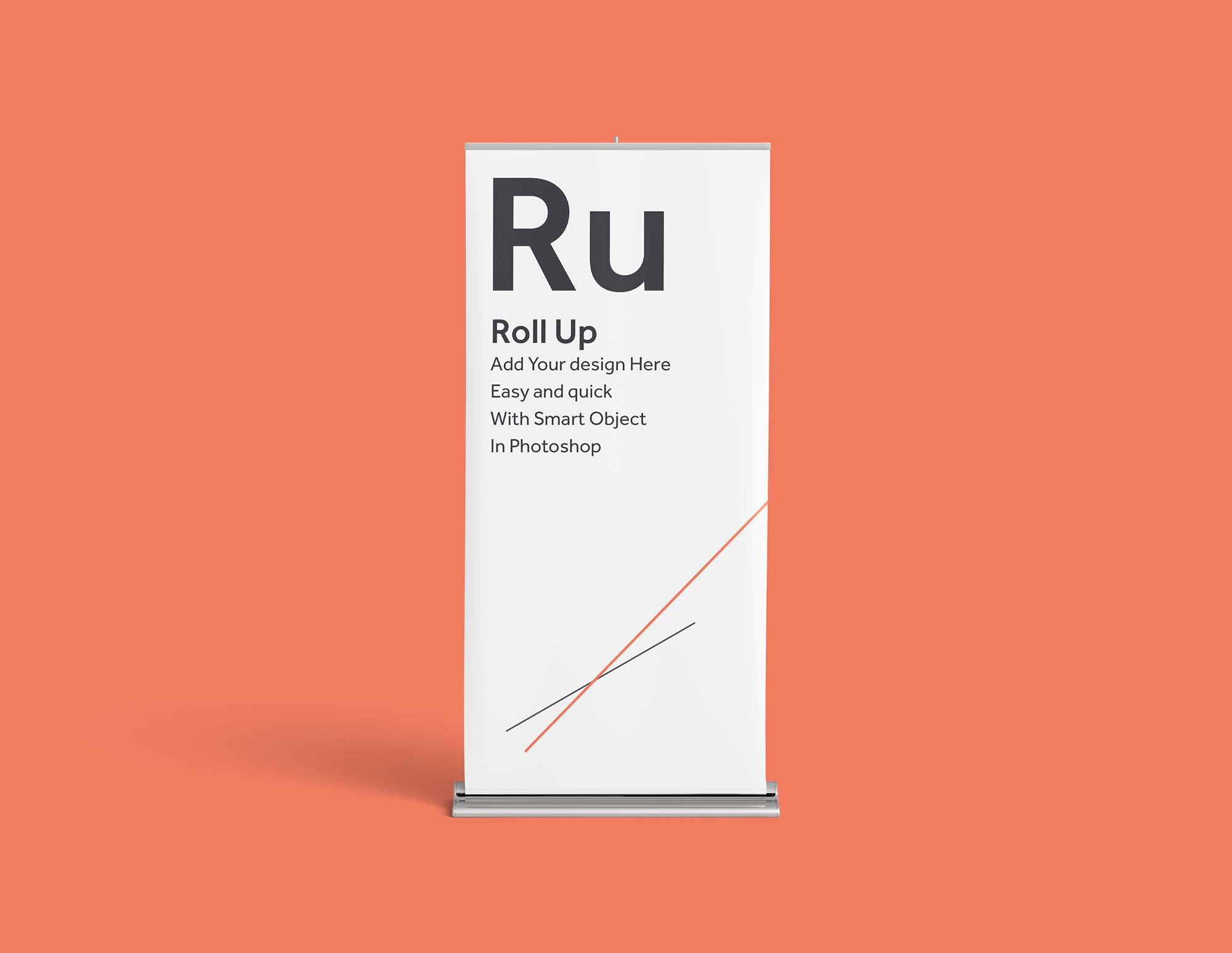 Free rollup mockup free rollup mockup