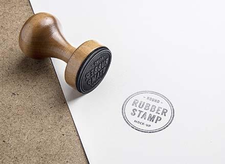 Rubber Stamp Mockup