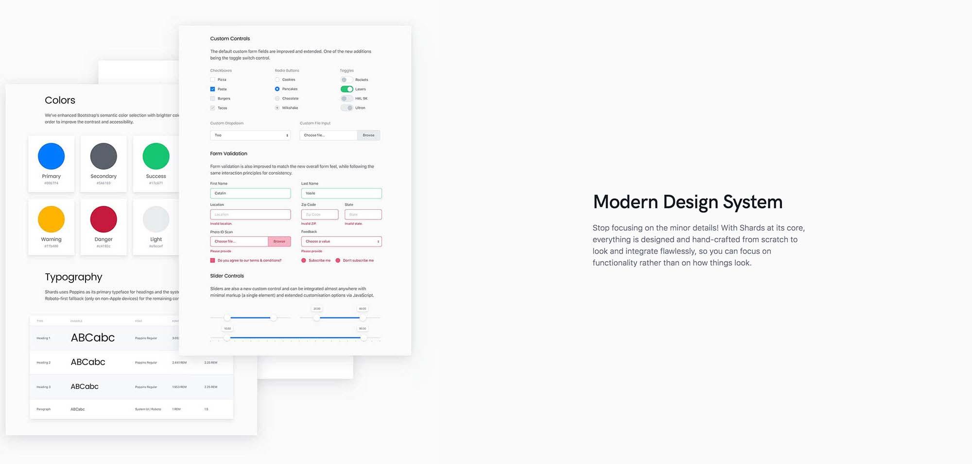 Shard Free Admin Dashboard Template