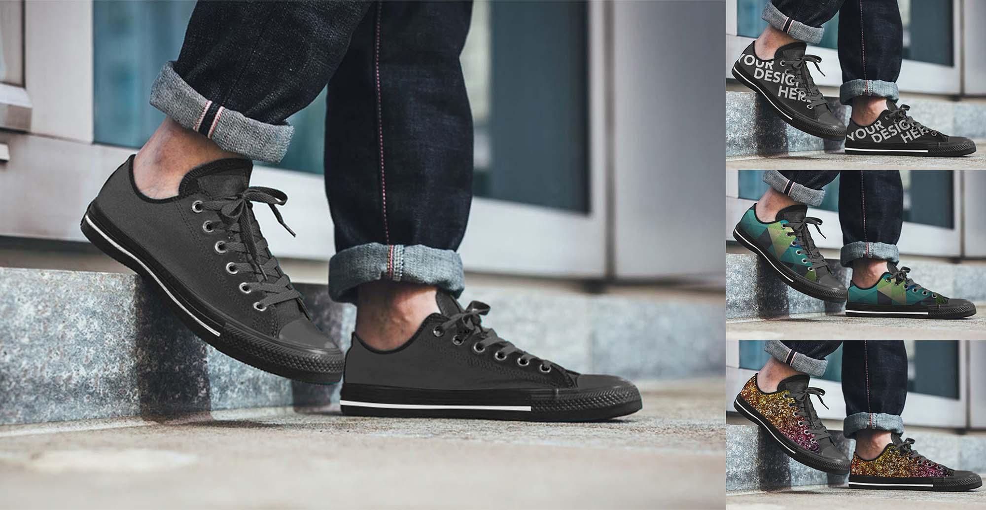 Shoe Sneakers Mockup