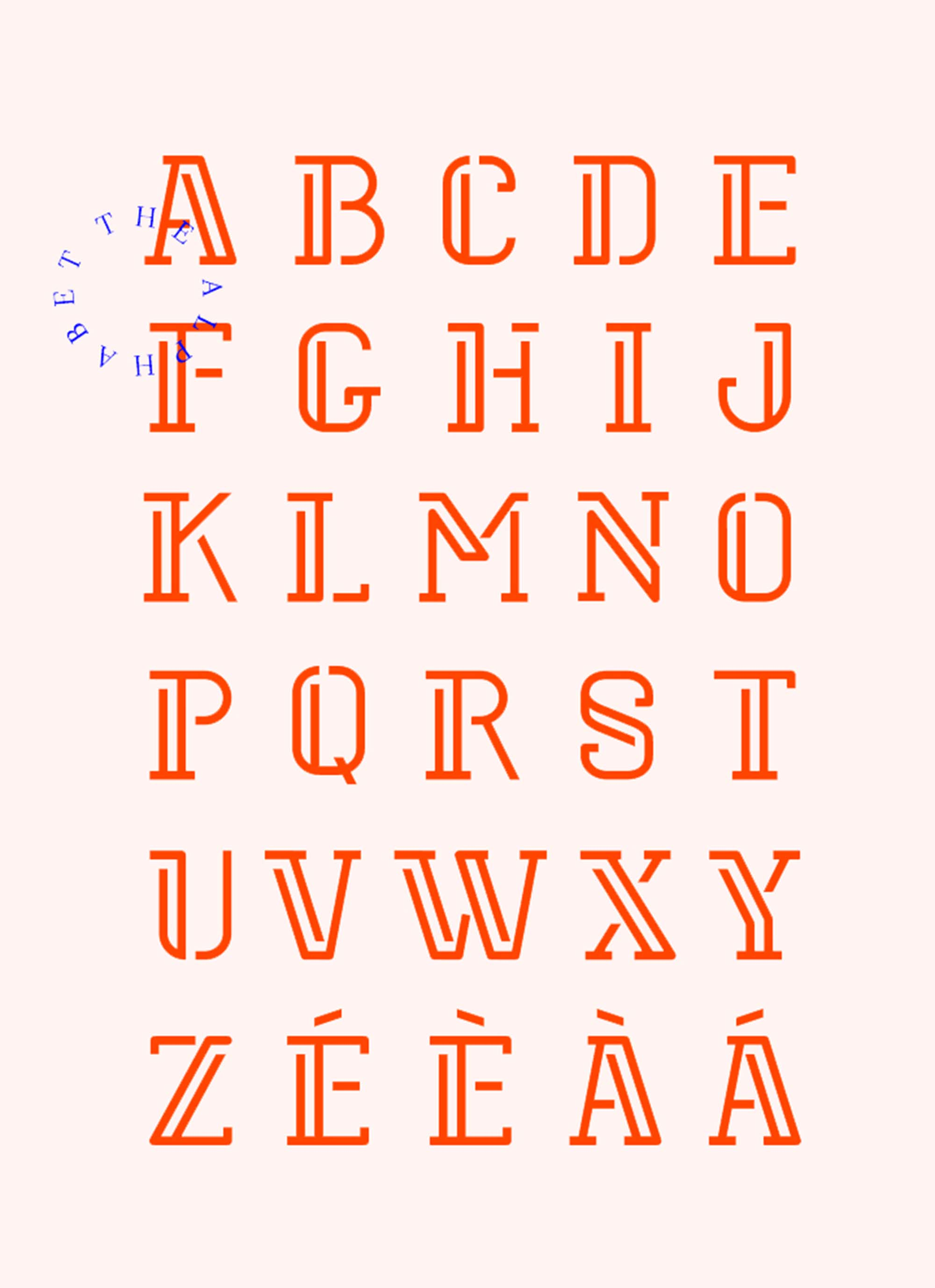 Stoked Font Letters