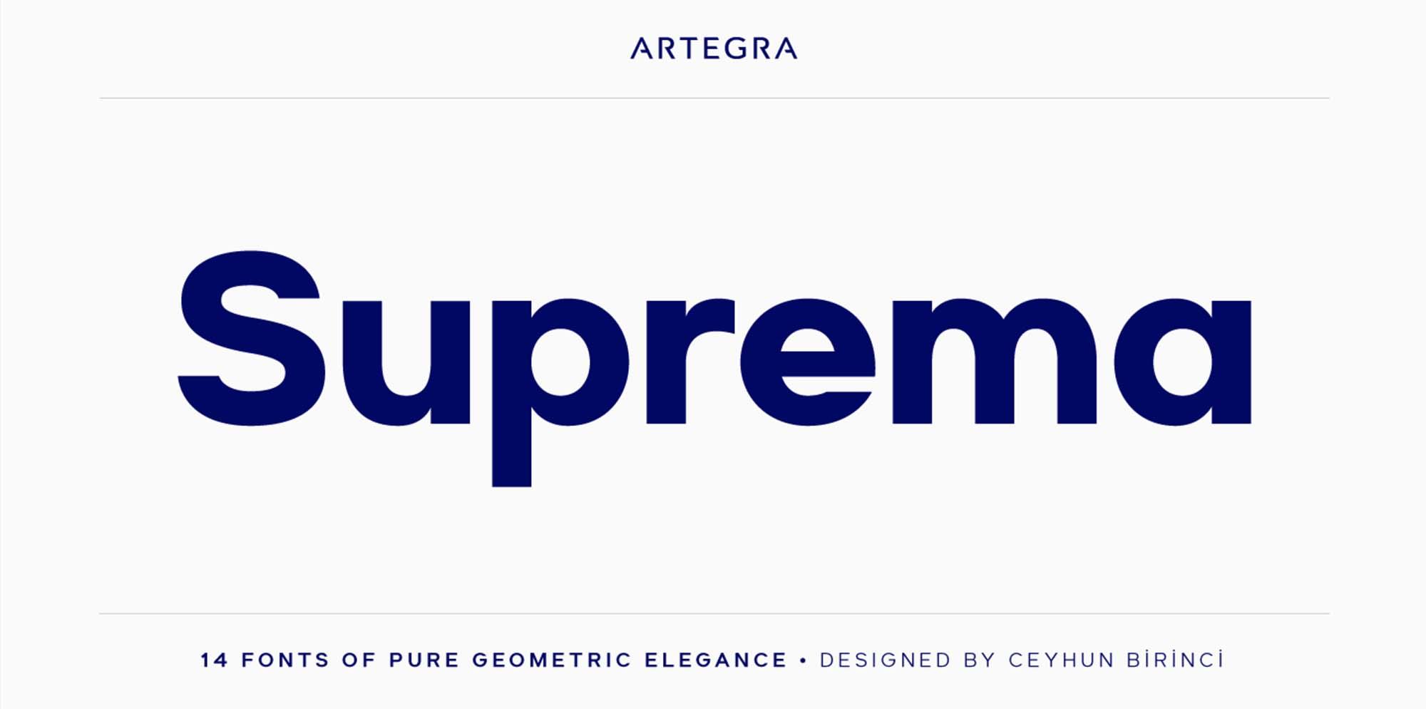 Suprema Font