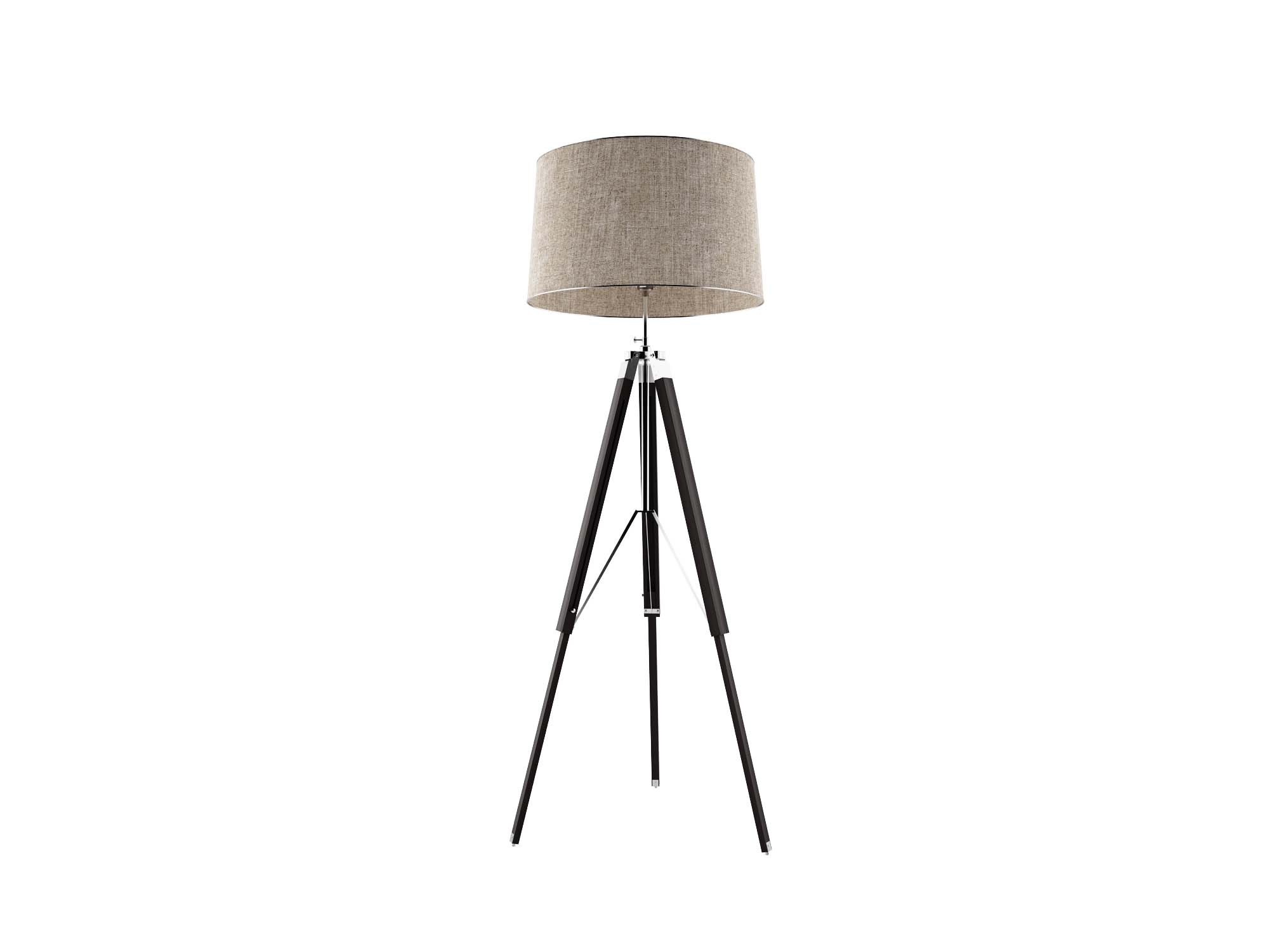 Free Tripod Lamp 3d Model