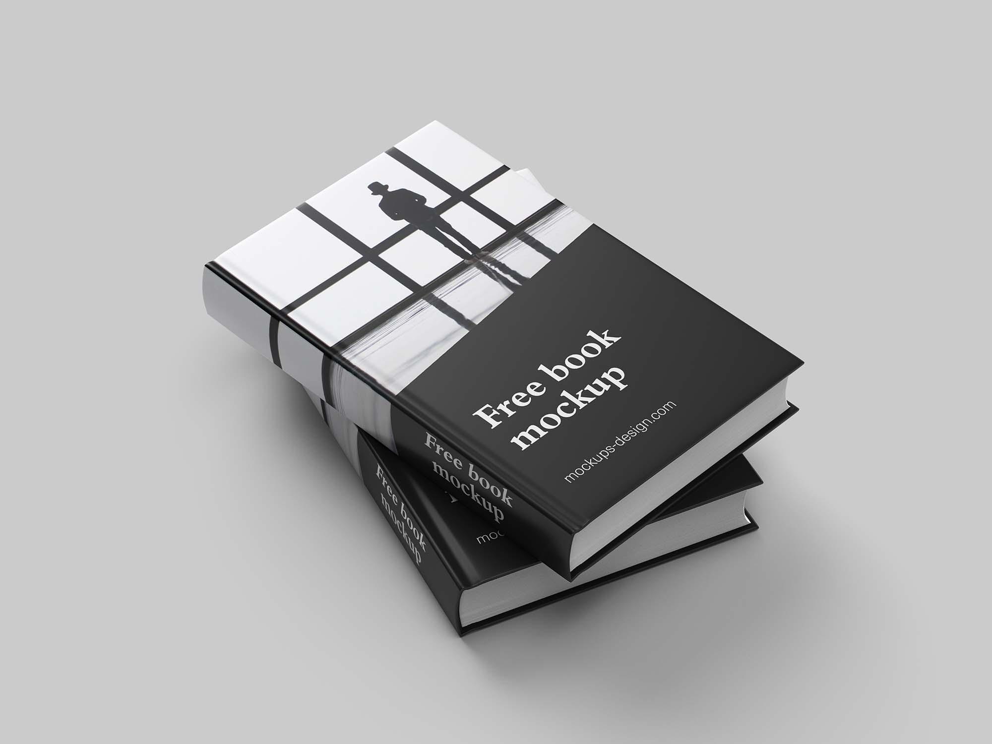 Two Book Mockup