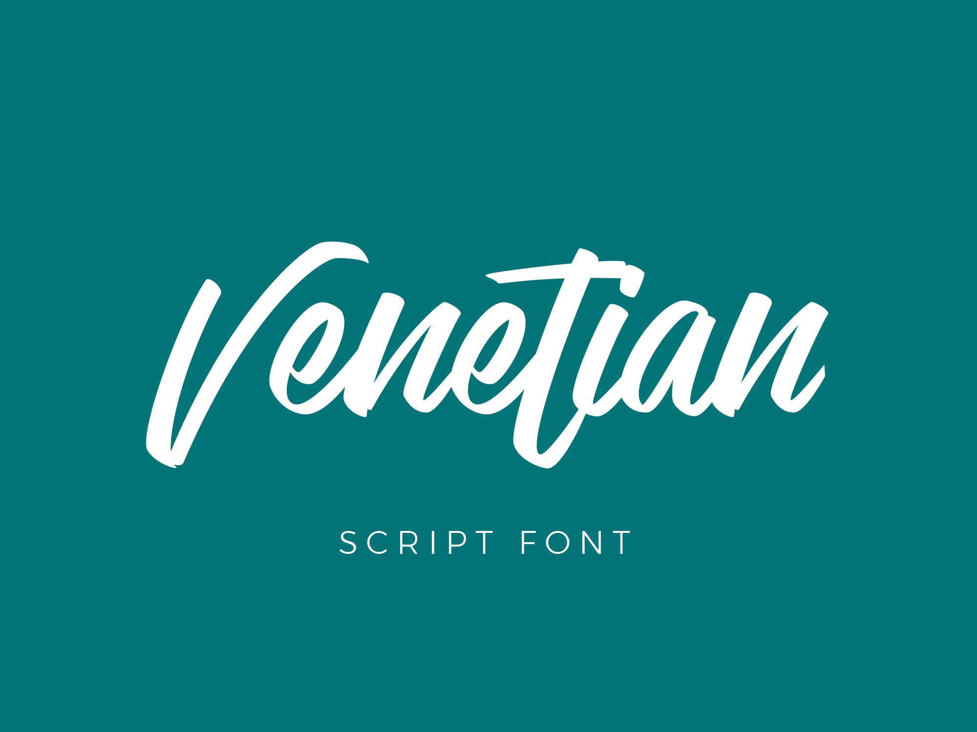 Venetian Font