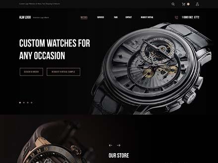 Watch Website Template