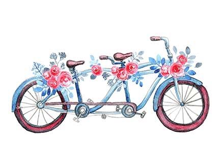Watercolor Wreath Design Collection