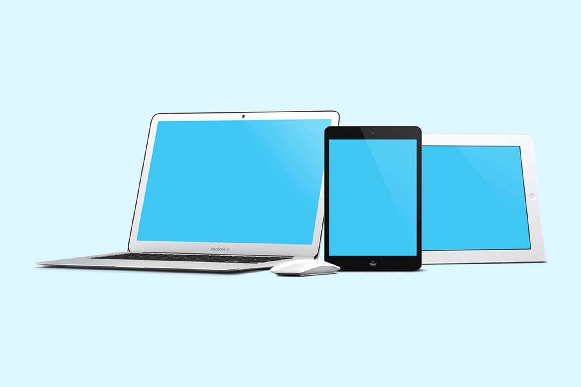 iMockup Screen Responsive Devices