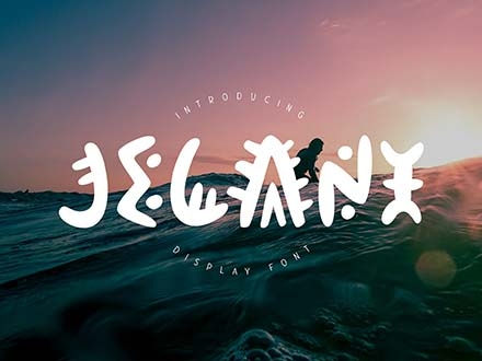 Jelani Display Font