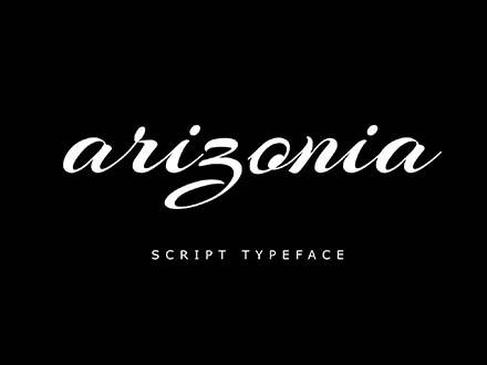 Arizonia Script Font