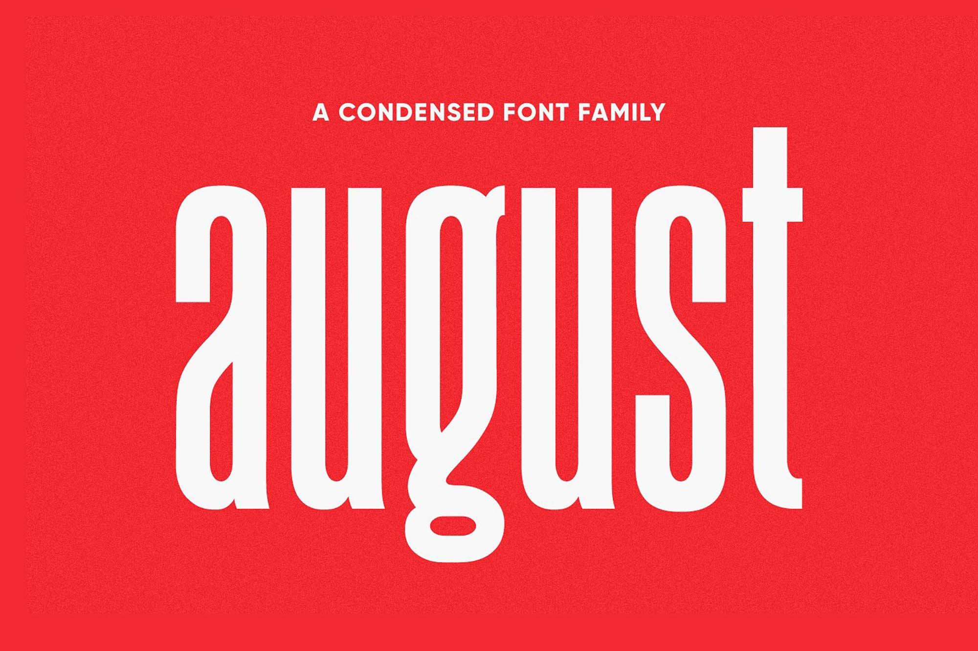 August Font