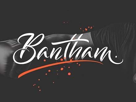 Bantham Font