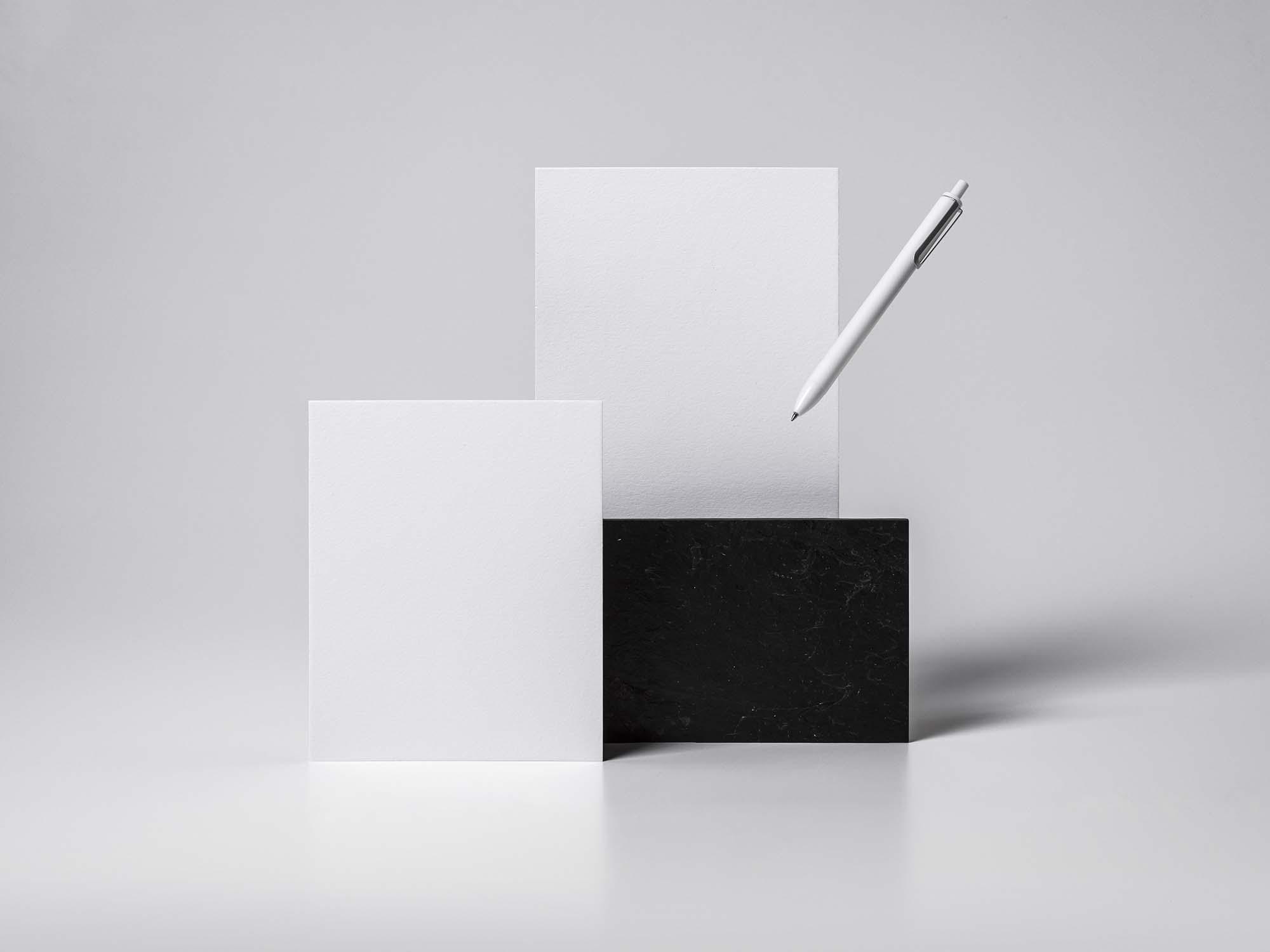 Basic Stationery Mockup