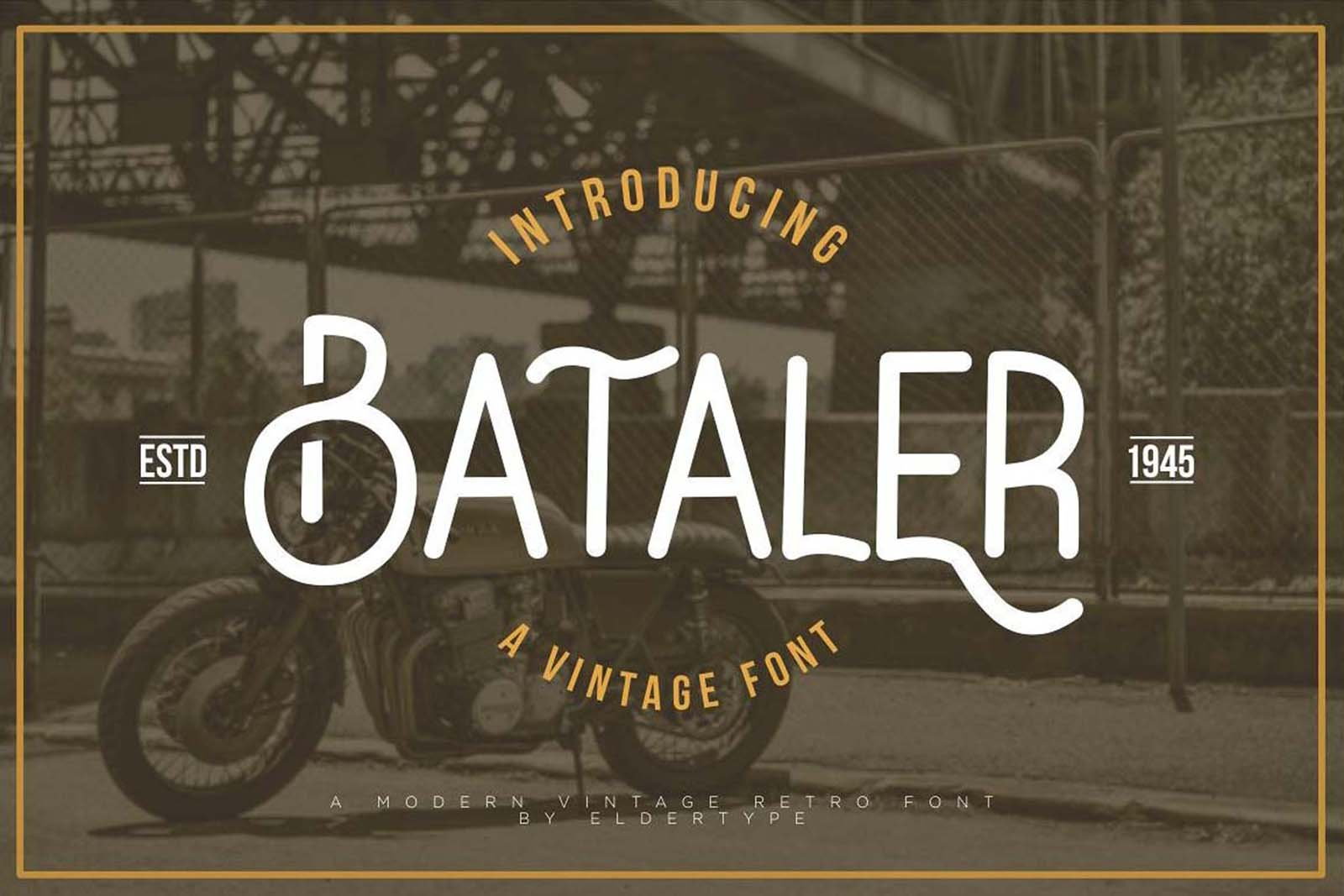 Bataler Font