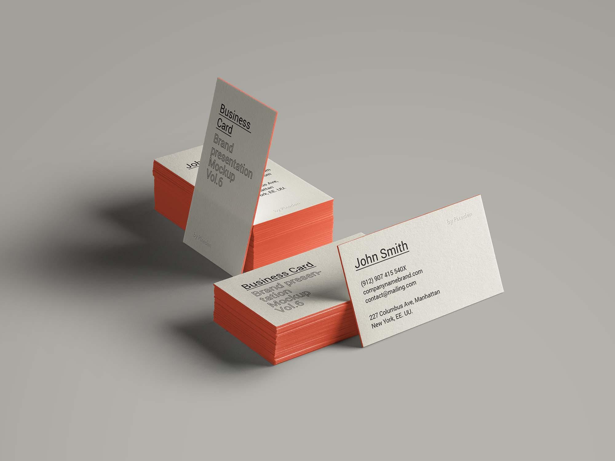 Business Card Brand Mockup