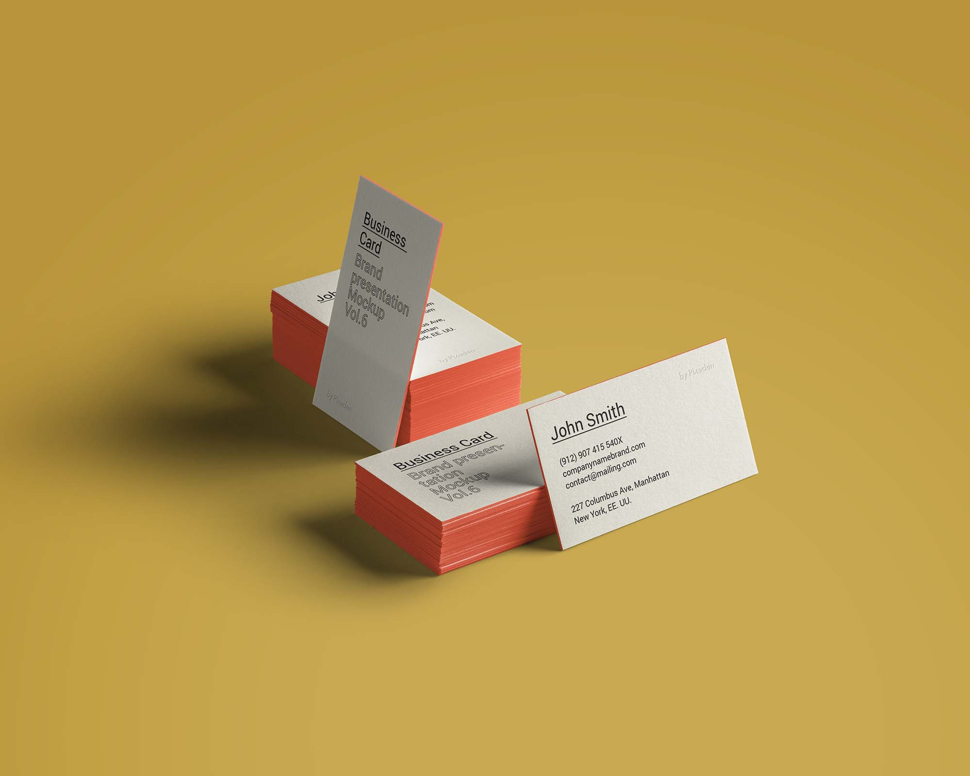 Business Card Brand Mockup