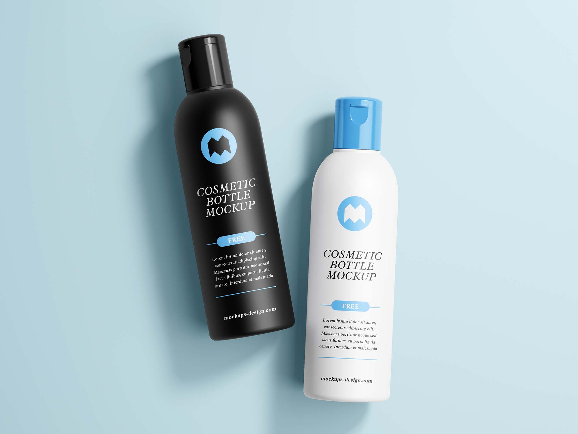 Cosmetics Bottle MockupCosmetics Bottle Mockup